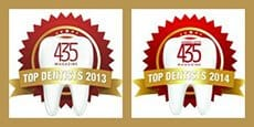 Top Dentist Awards 2013 & 2014